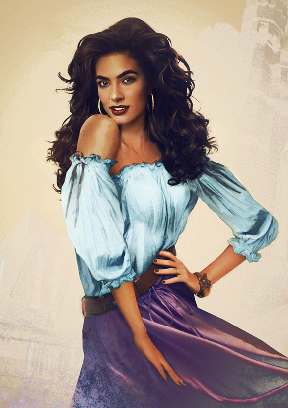 Jirka Väätäinen - Esmeralda from the Hunchback on Notre Dame