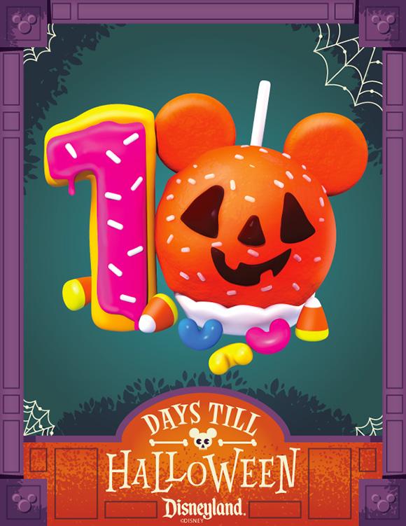 Cecy Meade - Disneyland Halloween Countdown