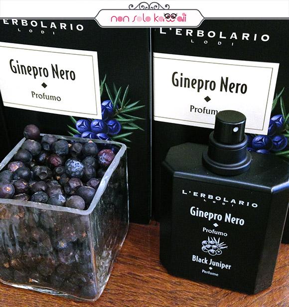 non solo Kawaii - L'Erbolario Ginepro Nero, profumo
