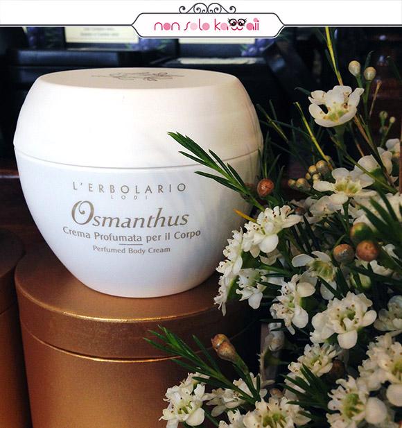 non solo Kawaii - L'Erbolario Osmathus, crema Scented Body Cream