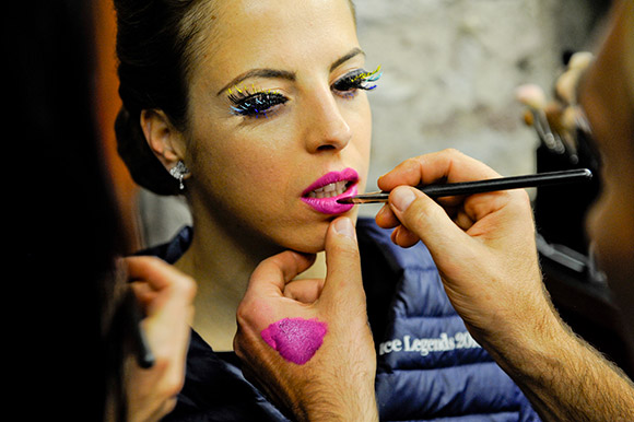 Intimissimi On Ice, MAC Backstage con Carolina Kostner