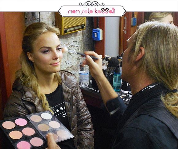 non solo Kawaii - Intimissimi On Ice, MAC Backstage con Kiira Korpi