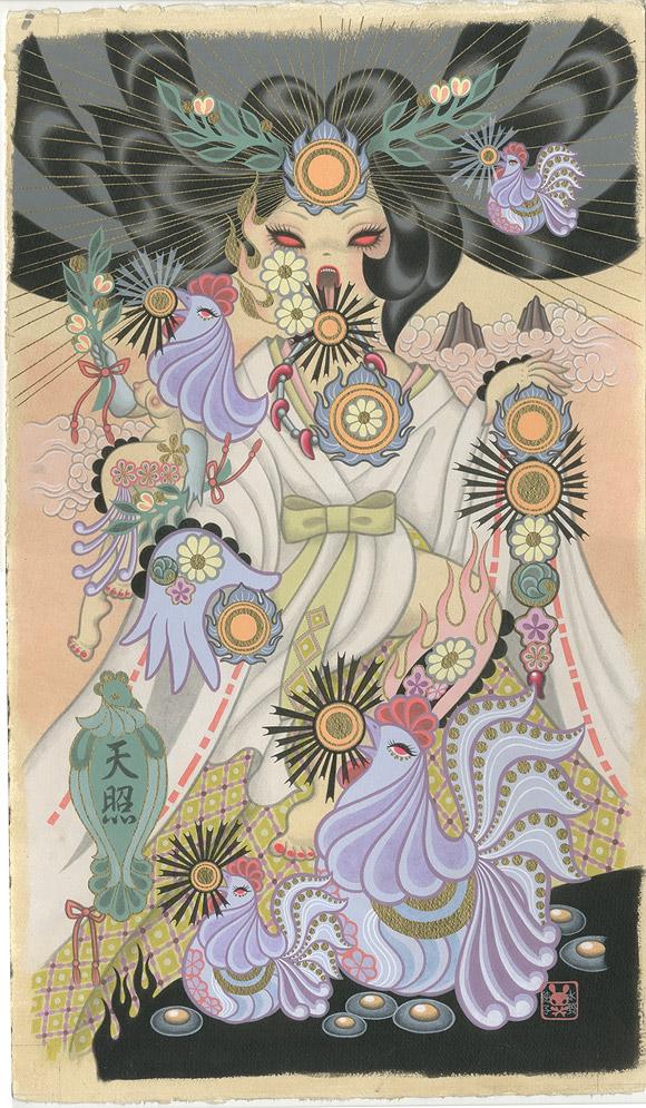 Junko Mizuno, Amaterasu - Takarabune, Nucleus Gallery