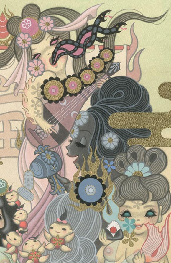 Junko Mizuno, Takarabune - Takarabune, Nucleus Gallery