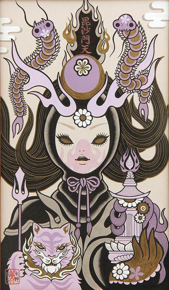 Junko Mizuno, Seven Lucky Gods: Bishamonten - Takarabune, Nucleus Gallery