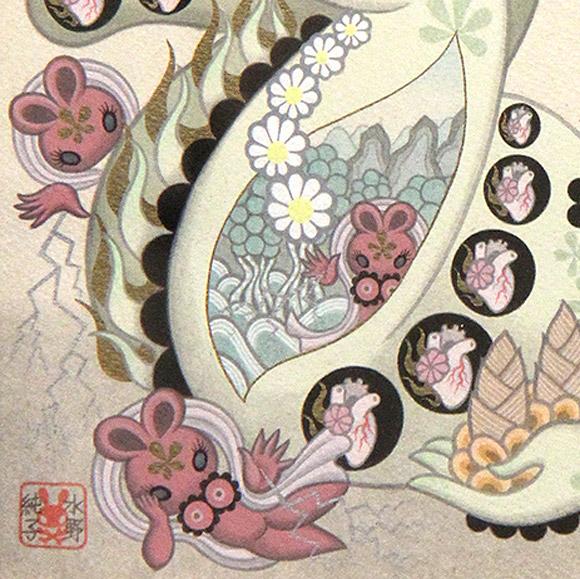 Junko Mizuno, Izanami - Takarabune, Nucleus Gallery
