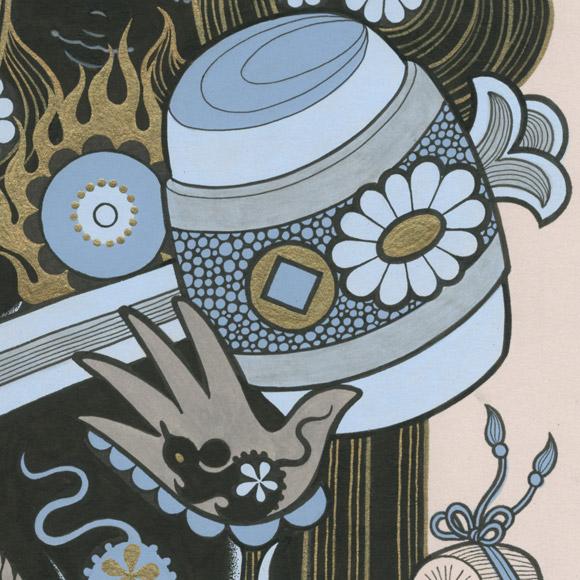 Junko Mizuno, Seven Lucky Gods: Daikokuten - Takarabune, Nucleus Gallery