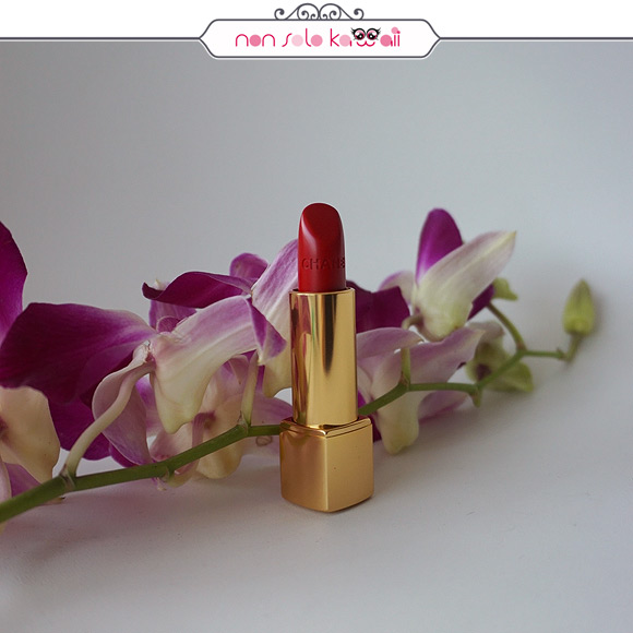 non solo Kawaii - Chanel Coco Code Rouge Allure 176 indépendante