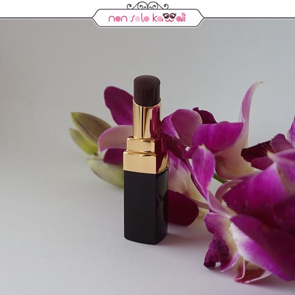 non solo Kawaii - Chanel Coco Code Rouge Coco Shine 128 noir moderne
