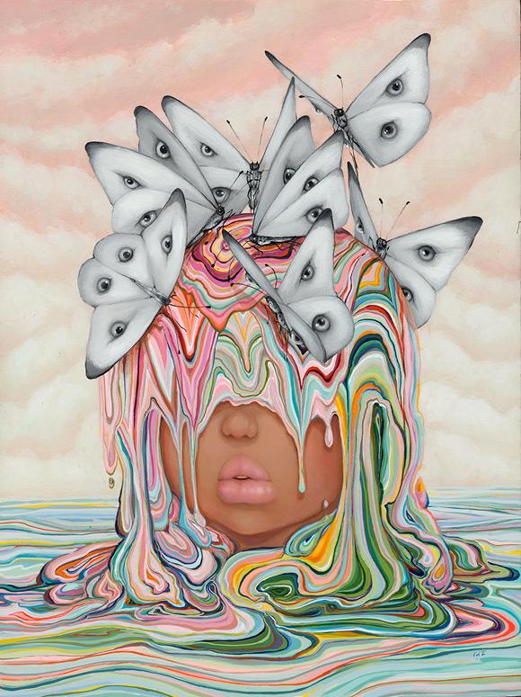 Camilla D'Errico - Eye sea hue   Submerged - Dorothy Circus Gallery