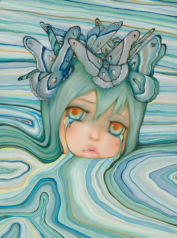 Camilla D'Errico - Pool of tears   Submerged - Dorothy Circus Gallery