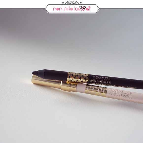 non solo Kawaii | Pupa Pink Muse Spring Collection - Pink Muse Intense Kohl 001 Extra Black, 003 Ethereal Nude