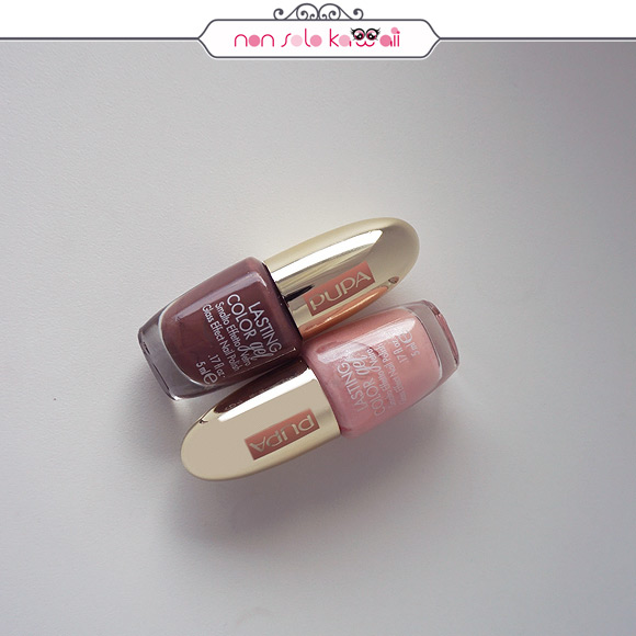 non solo Kawaii | Pupa Pink Muse Spring Collection - Lasting Color Gel 175 Soft Pink, 178 Intense Brown