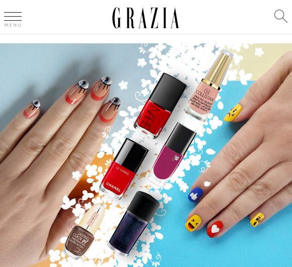 non solo Kawaii - Nail Arts for Grazia.it