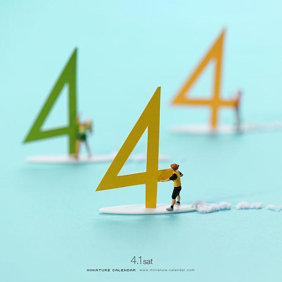 Tatsuya Tanaka - Miniature Calendar