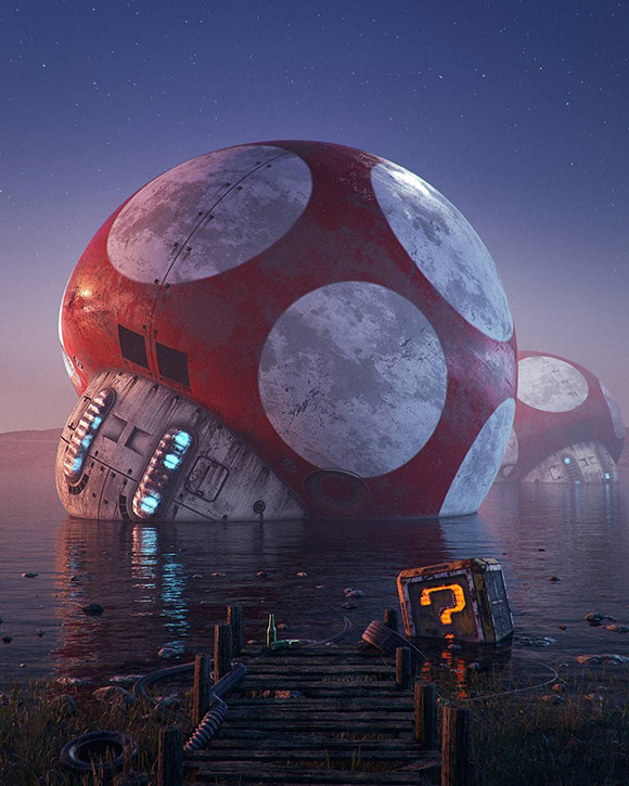 Filip Hodas - Mario Super Mushroom