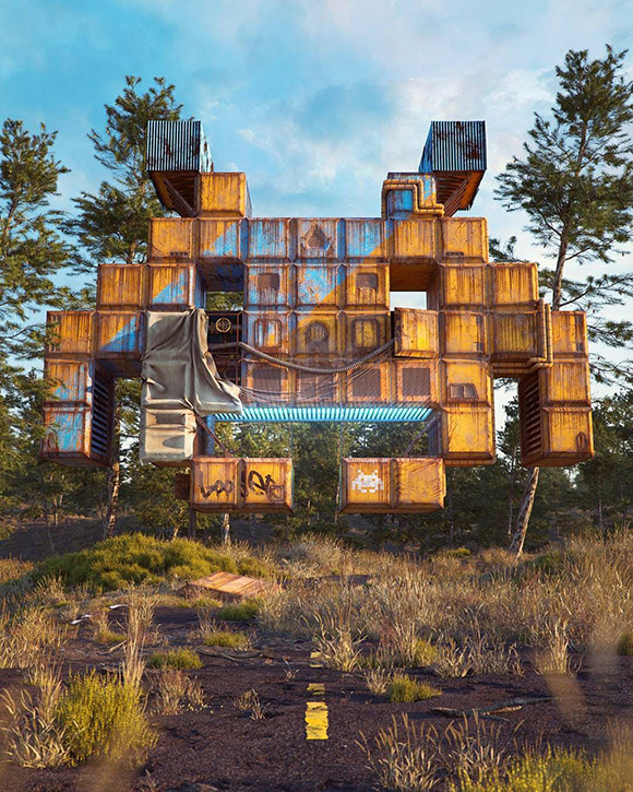 Filip Hodas - Space Invader
