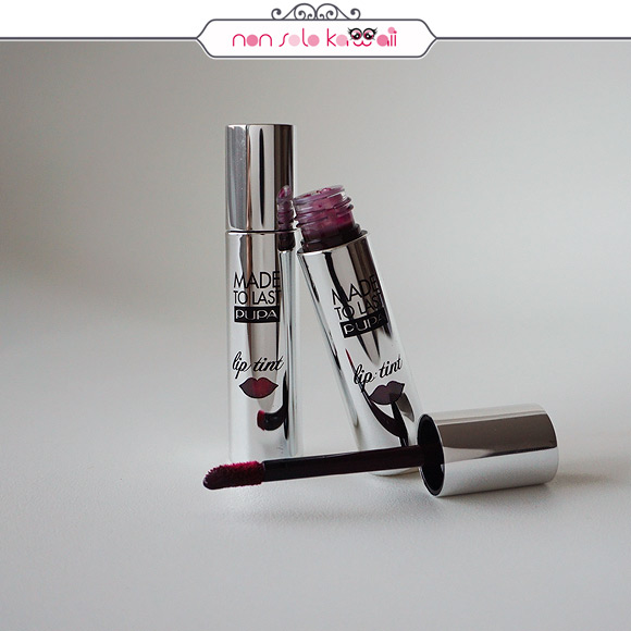 non solo Kawaii - Pupa Made to Last Lip Tint 007 Berry Violet, 008 Hot Burgundy
