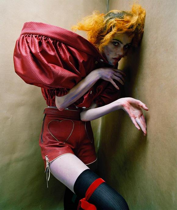 Tim Walker X I-D - an Egon Schiele-Inspired Shoot