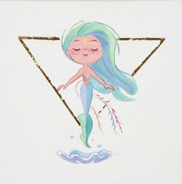 Andrea Fernandez, Wish Oceanide - Splish Splash, Nucleus Gallery