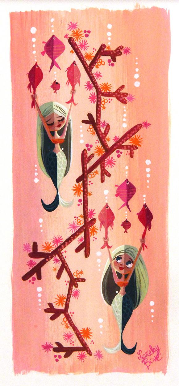 Lorelay Bove, Fishy Mermaids - Splish Splash, Nucleus Gallery