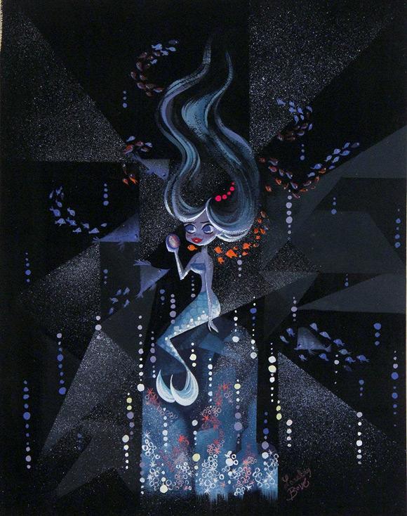 Lorelay Bove, Deep Sea Mermaid - Splish Splash, Nucleus Gallery