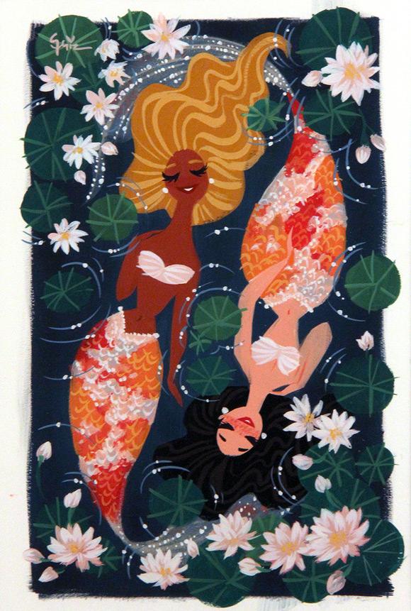 Griselda Sastrawinata-Lemay, Marmalade and Honey - Splish Splash, Nucleus Gallery