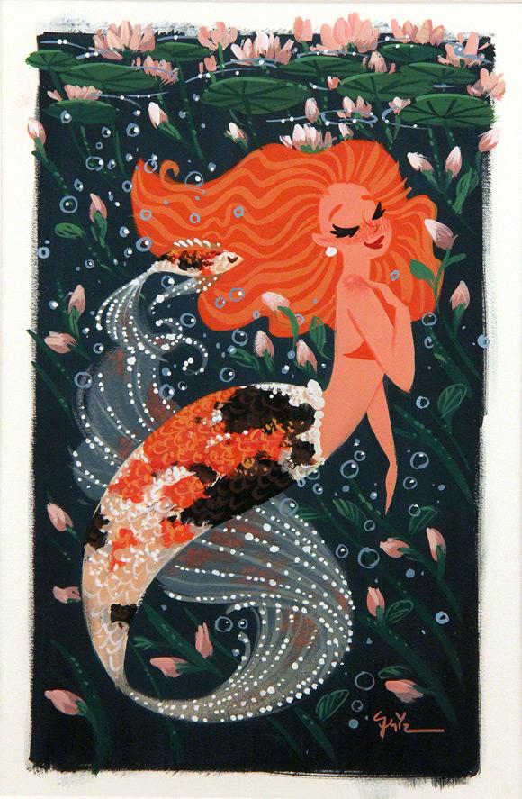 Griselda Sastrawinata-Lemay, Clementine - Splish Splash, Nucleus Gallery
