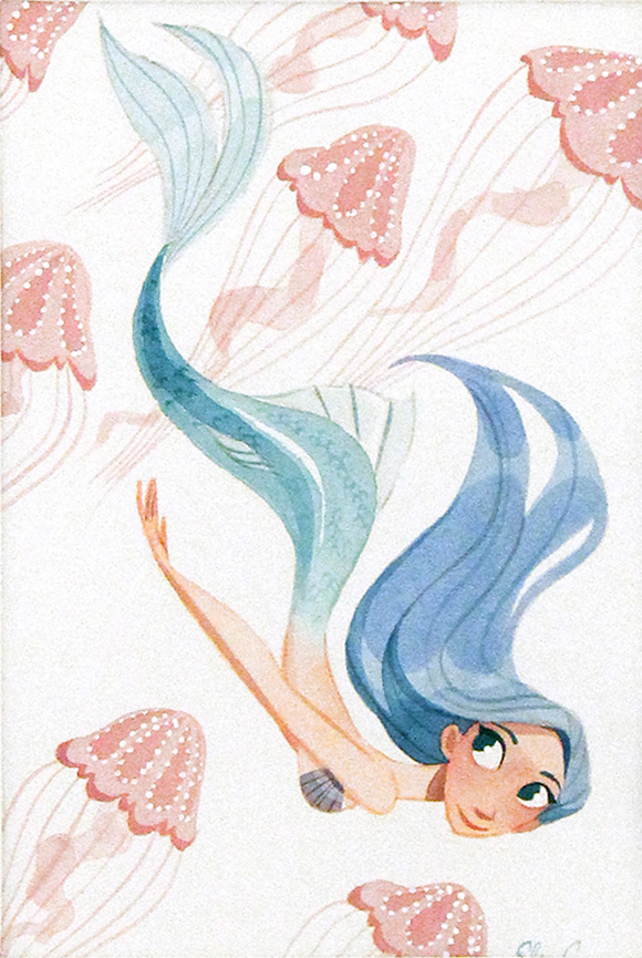 Elsa Chang, Jellyfish - Splish Splash, Nucleus Gallery