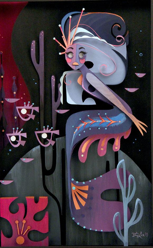 Brittney Lee, Sirena - Splish Splash, Nucleus Gallery