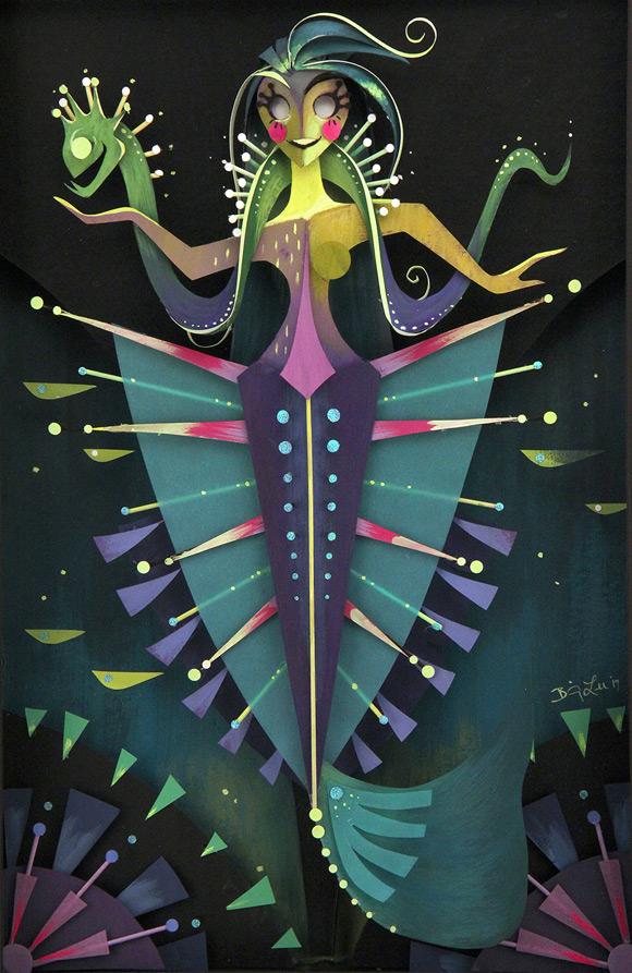 Brittney Lee, Aurelia - Splish Splash, Nucleus Gallery