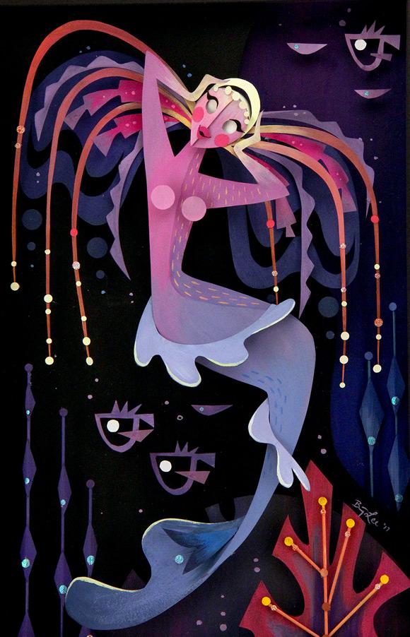 Brittney Lee, Electra - Splish Splash, Nucleus Gallery