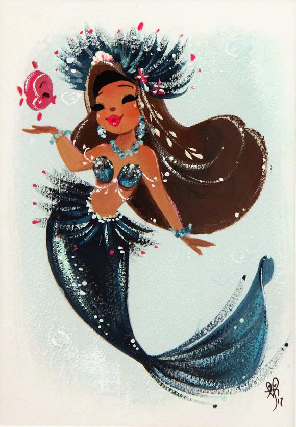 Liana Hee, Lady Luau - Splish Splash, Nucleus Gallery