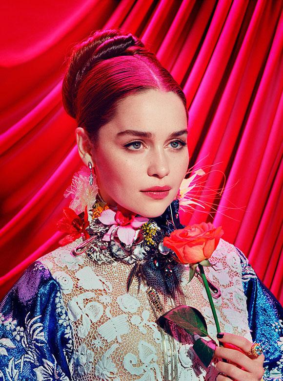 Miles Aldridge x Time | Emilia Clarke aka Daenerys Targaryen