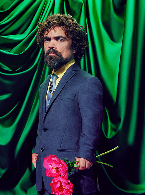 Miles Aldridge x Time | Peter Dinklage aka Tyrion Lannister