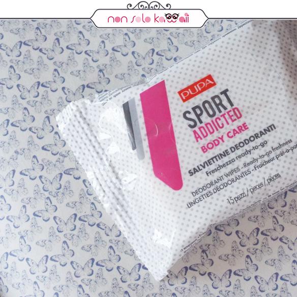 Pupa Milano | Sport Addicted Salviette Deodoranti