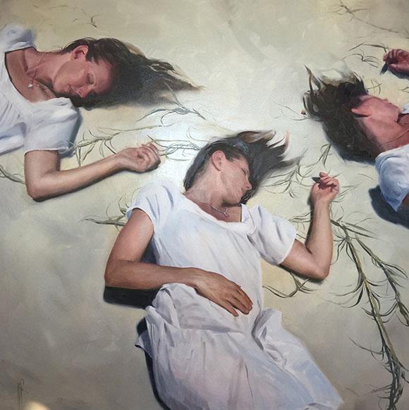 Pinwheel, Korin Faught - Defying Gravity, Corey Helford Gallery