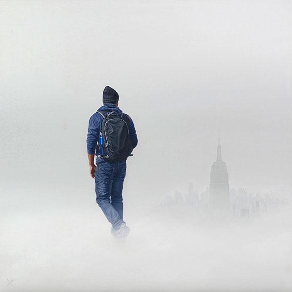 Cloud Walker, Nigel Cox - Defying Gravity, Corey Helford Gallery