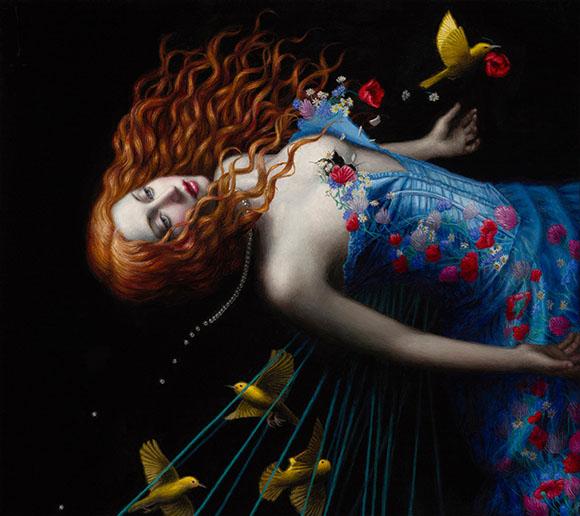 Deliverance, Chie Yoshii - Defying Gravity, Corey Helford Gallery