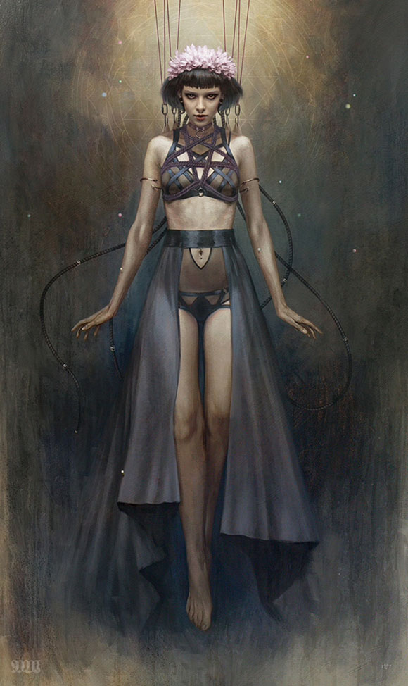 Metamorphosis, Tom Bagshaw - Defying Gravity, Corey Helford Gallery