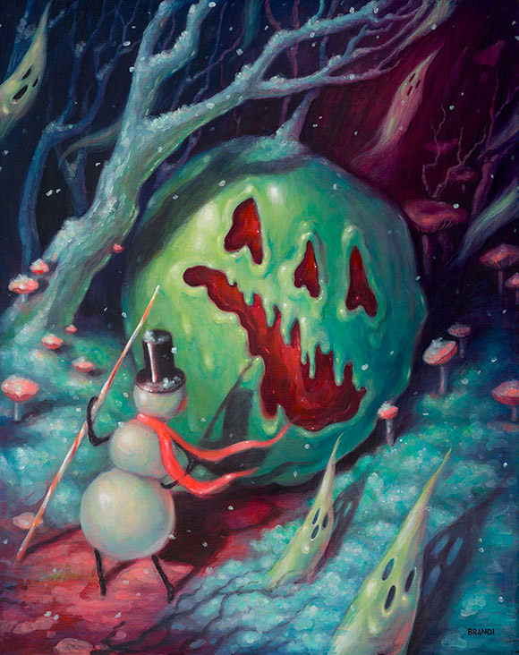 Brandi Milne, Strange Fruit - Once Upon A Quiet Kingdom, Corey Helford Gallery