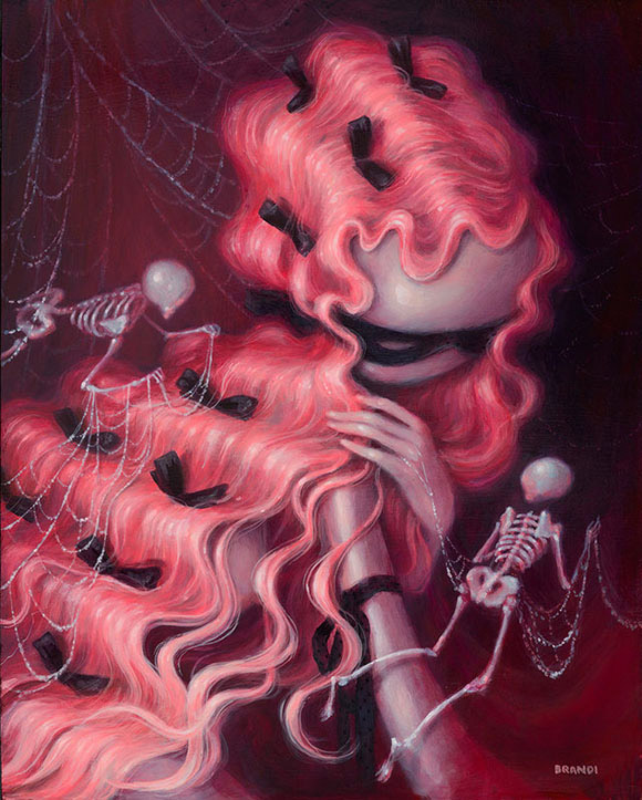 Brandi Milne, Got You Where I Want You - Once Upon A Quiet Kingdom, Corey Helford Gallery