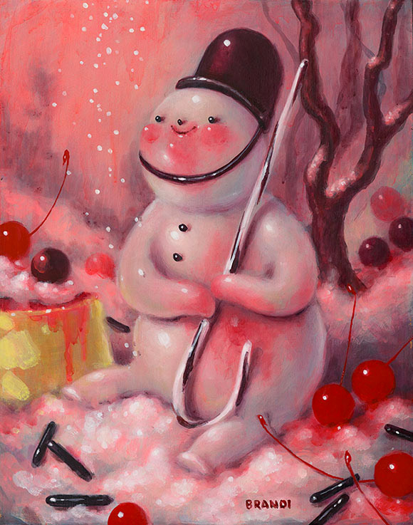 Brandi Milne, Little One - Once Upon A Quiet Kingdom, Corey Helford Gallery
