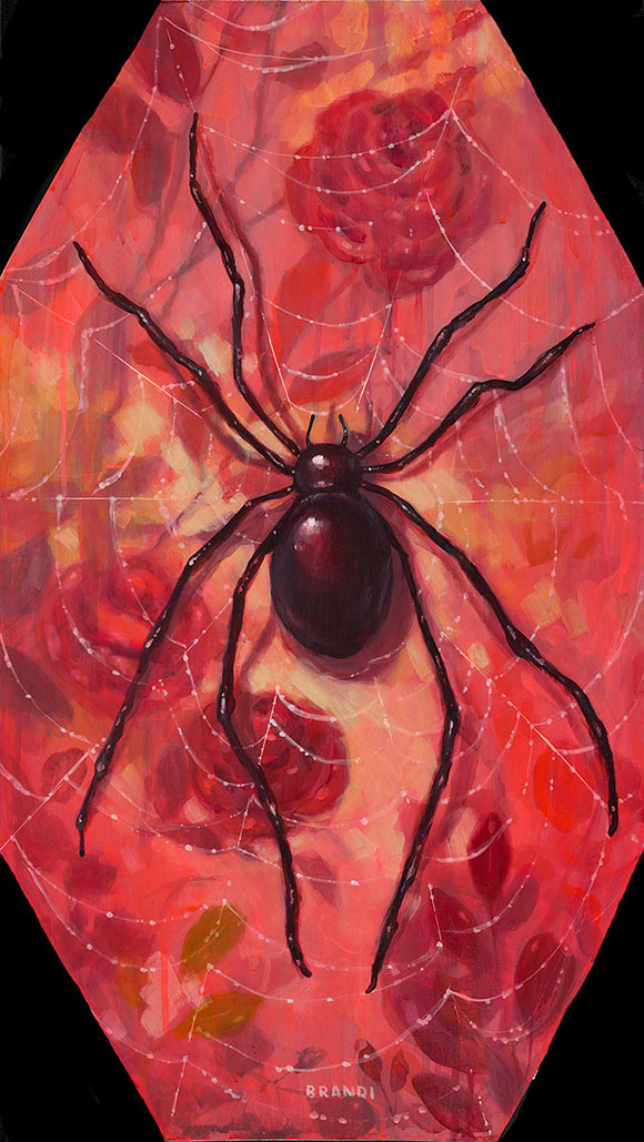 Brandi Milne, Along Came A Spider A - Once Upon A Quiet Kingdom, Corey Helford Gallery