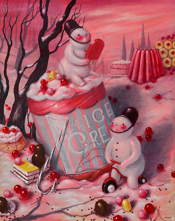 Brandi Milne, Once Upon A Quiet Kingdom - Once Upon A Quiet Kingdom, Corey Helford Gallery