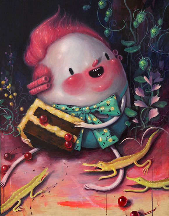 Brandi Milne, My Sweet - Once Upon A Quiet Kingdom, Corey Helford Gallery