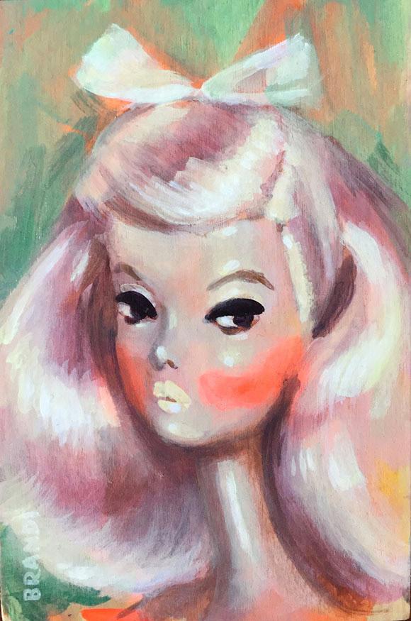 Brandi Milne, Full Disco - Once Upon A Quiet Kingdom, Corey Helford Gallery