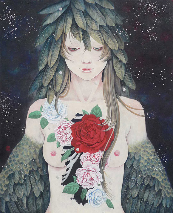 Akiko Ijichi, Selfless Love  | Heart's Blood, Haven Art Gallery