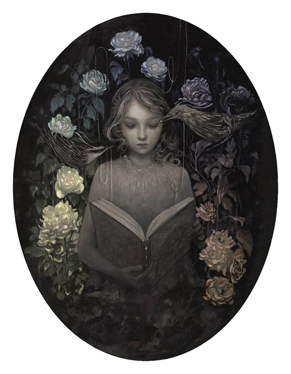 Amy Sol, Night Bloom | Heart's Blood, Haven Art Gallery
