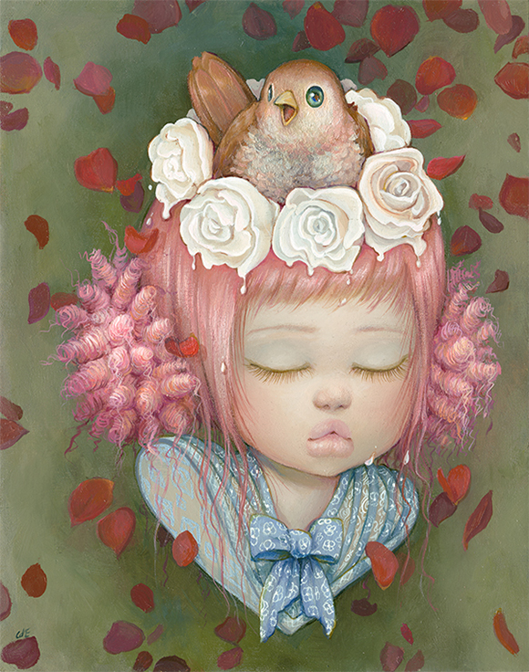 Camilla d'Errico, Hearts Desire   Heart's Blood, Haven Art Gallery